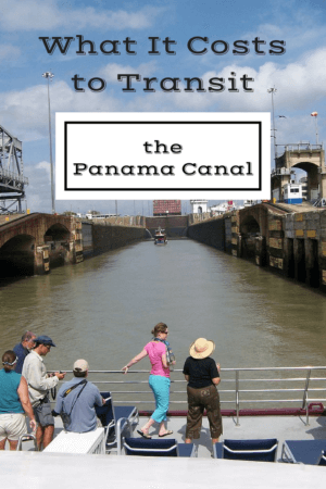 What it costs to transit the Panama Canal, from small sailboats to huge cargo ships going through the locks.