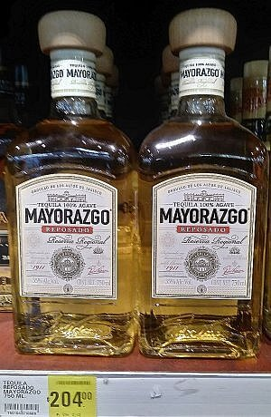Mayorazco bargain tequila from Mexico