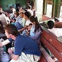 train travel in Burma