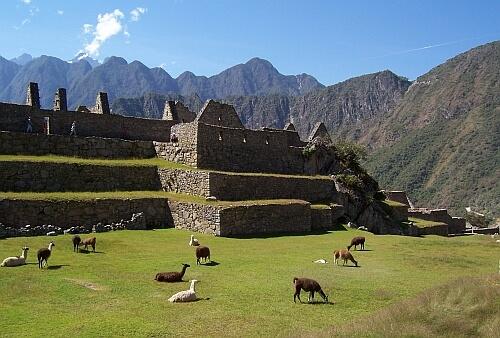 Entrance fee Machu PIcchu Peru