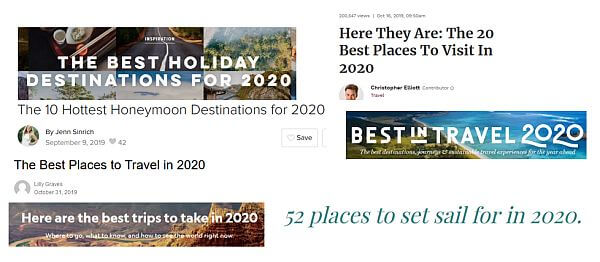 best travel destinations to visit 2020