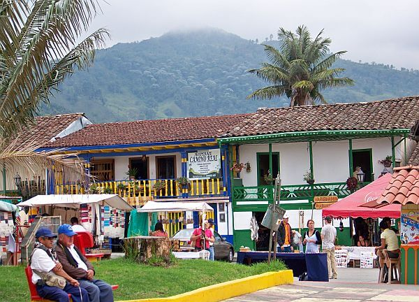 town in Colombia for a nice life after moving abroad