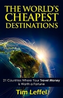 cheapest places to travel