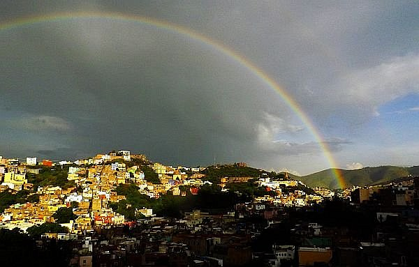 summer rainy season Guanajuato