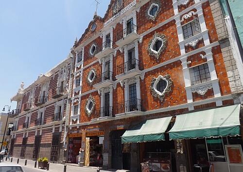 Puebla buildings