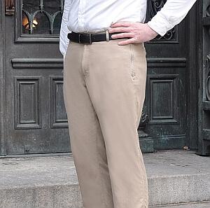 Pickpocket proof business pants