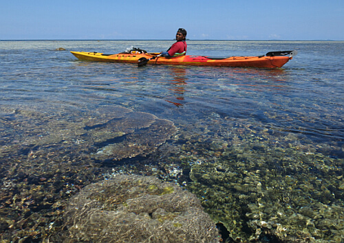 paddling West Papau