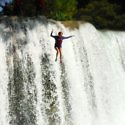 waterfall jumping San Luis Potosi
