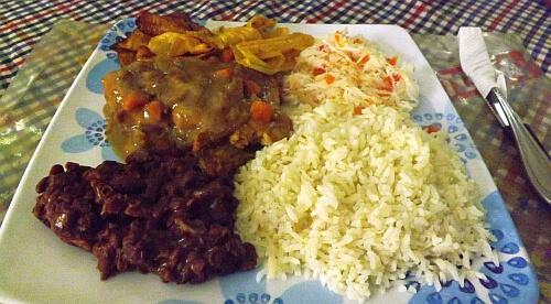 lunch Nicaragua