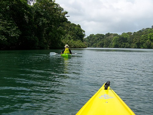 kayaking Lake Gatun