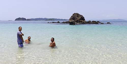 Panama blue ocean