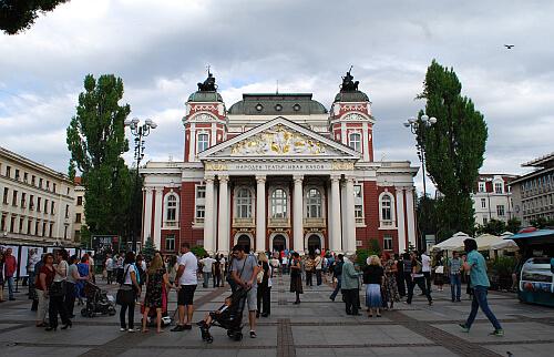 live in Bulgaria and go to the Sofia theater for cheap