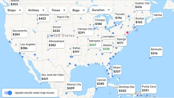 Find the best vacation flight deals from your own airport