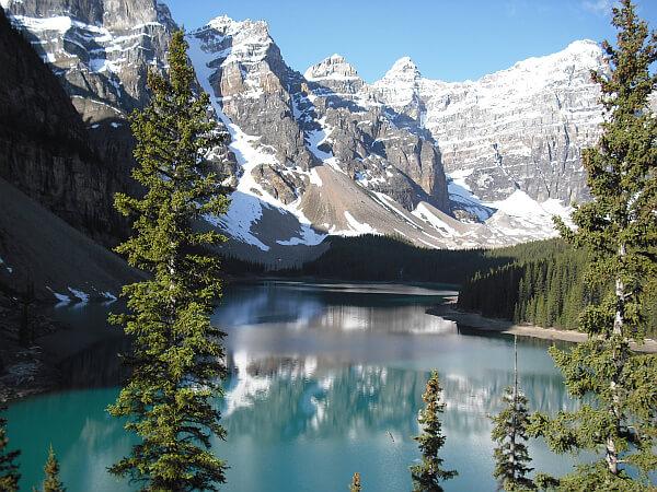 Lake Moraine Alberta