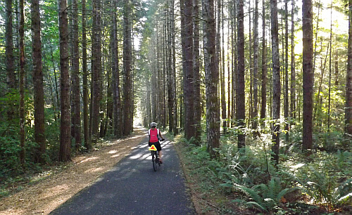 biking Oregon