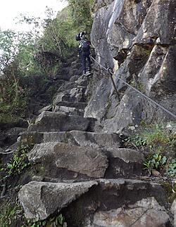 toughest hike Peru