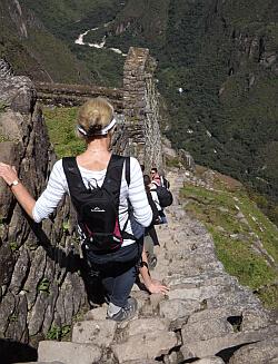 back to Machu Picchu