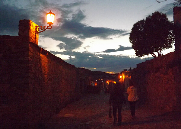 Real de Catorce at night