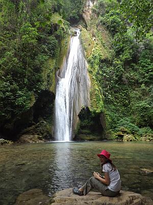 Chuveje waterfall