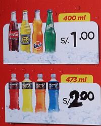Peru sodas