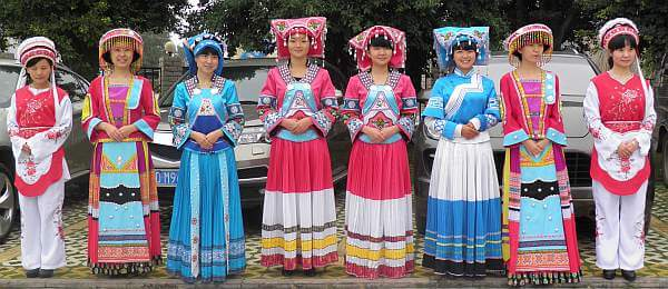rural China women