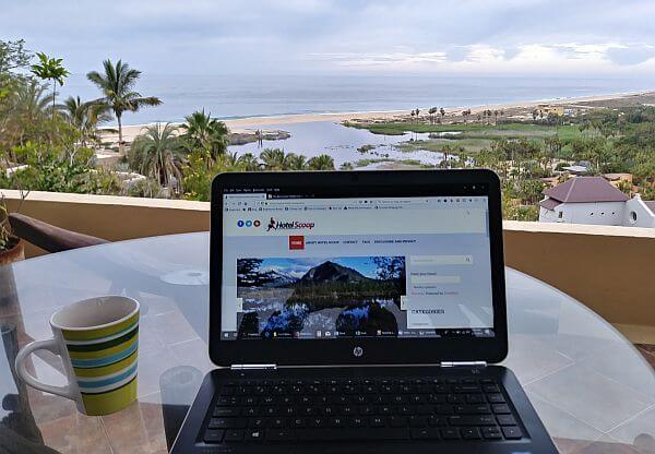 working remotely living abroad
