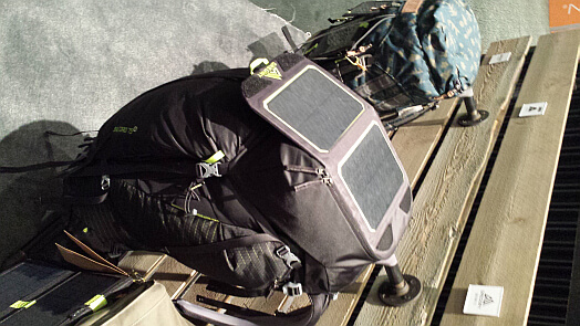 solar backpack Gregory