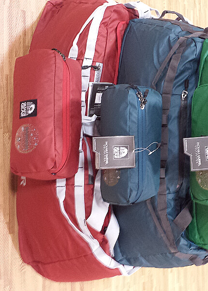 packable duffle bags