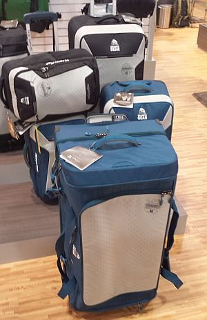 Granite Gear collapsible luggage for small apartments