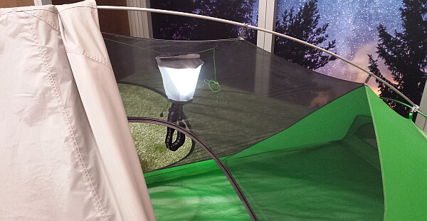 Sierra Designs tent light