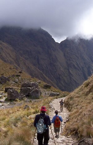 Inca Trail Peru hike with local tour company
