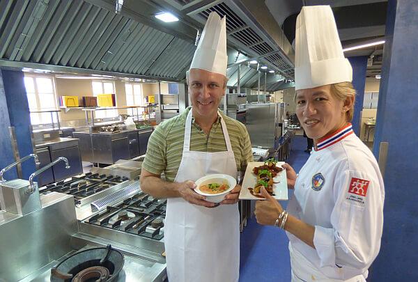 Thai cooking class MSC