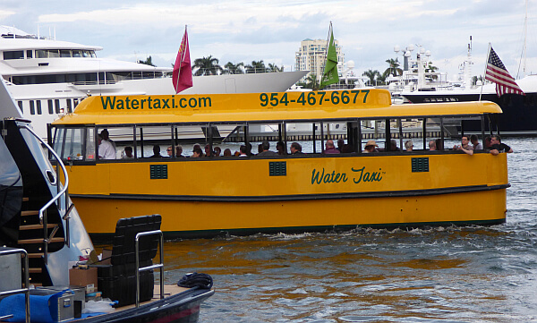 Ft. Laderdale water taxis