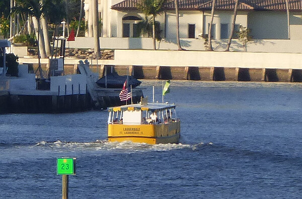Intracoastal water taxi