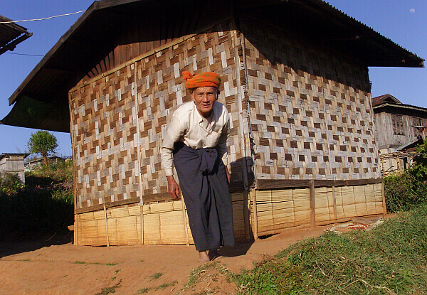 Village elder in Burma