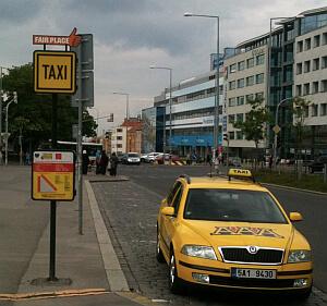 Prague taxi rates