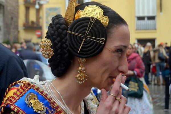 Valencia Spain woman