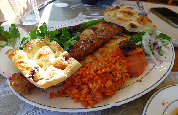 Turkish food Kadikoy