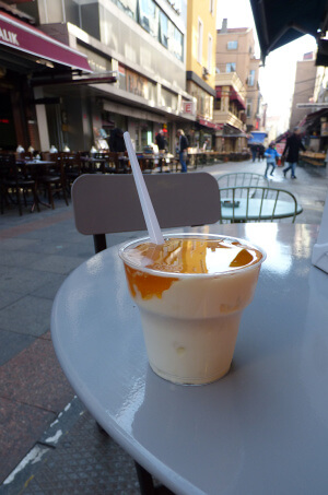 Honey and yogurt in Turkey