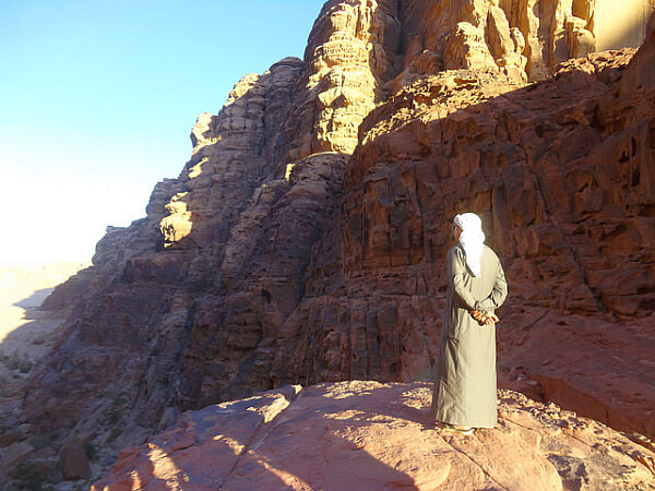 traveling in Wadi Rum Jordan