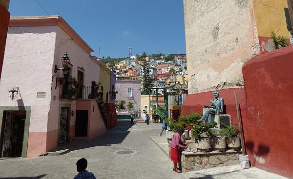 living in Guanajuato