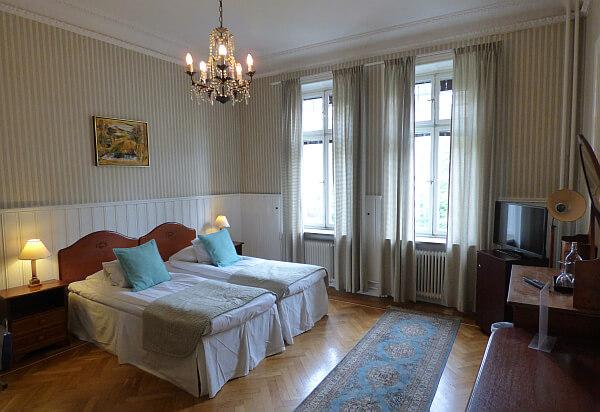 Stockholm budget hotel room