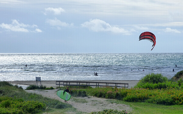 Sweden kitesurfers