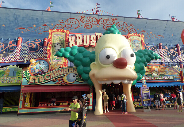 Simpsons Universal Studios Orlando