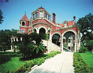 Galveston mansion in Texas