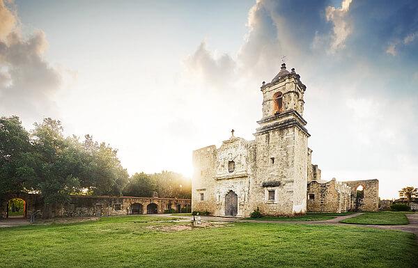 Texas history Spanish mission
