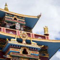 Buddhist temple northern India travel