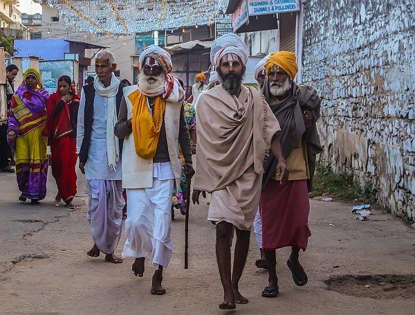 Pushkar India pilgrims