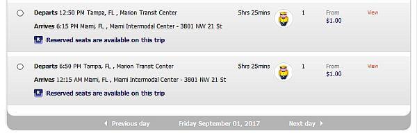 cheap megabus
