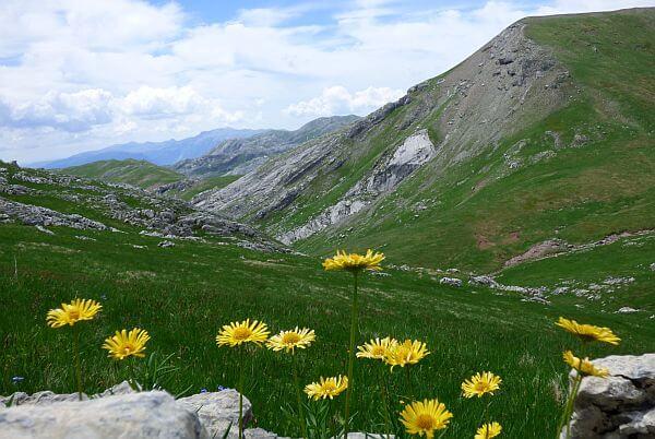 Visocica hiking Bosnia